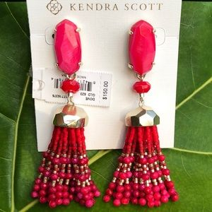 KENDRA SCOTT Dove statement earrings